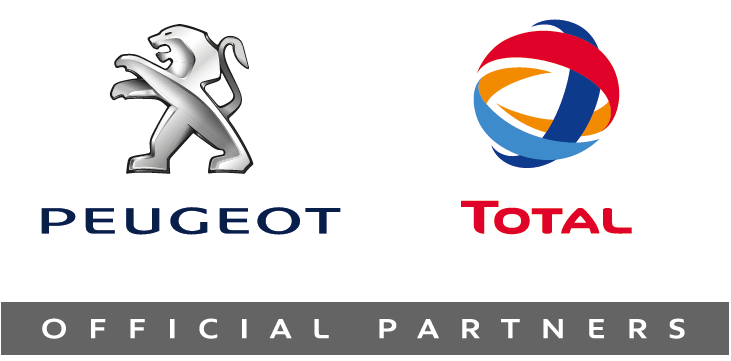 Peugeot og TOTAL er officielle partnere