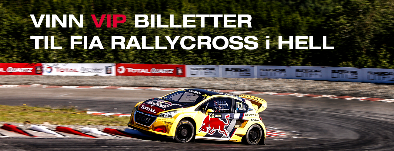 World Rally Cross HELL TOTAL NORGE