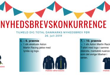 Kom med, når TOTAL Denmark inviterer til årets brag af et racerløb - Copenhagen Historic Grand Prix - og du kan vinde flotte præmier samt 2 VIP billetter