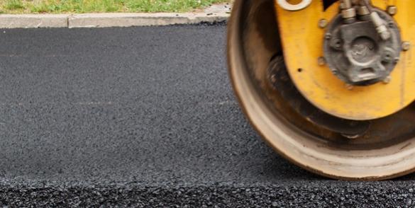TOTAL Bitumen til belægning på vej.