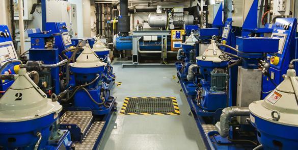 Användning av TOTALs optimerade underhållsprogram för industrin, TIG 6, förenklar underhålls- och smörjmedelshanteringen för verksamheten
