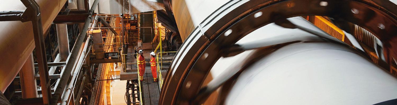 TotalEnergies har et bredt produktsortiment inden for smøreolie,specielt udviklet til industrien.