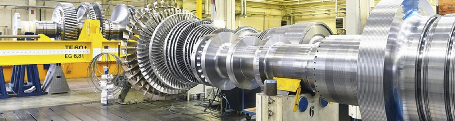 Through our close association with turbine manufacturers and producers in the power sector, weare aware of the vital role that equipment availability and performance play every day in the energy production process.