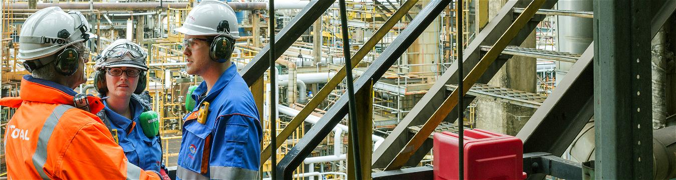 TotalEnergies erbjuderteknisk inspektion och optimering av erasmörjmedelsförbrukning.